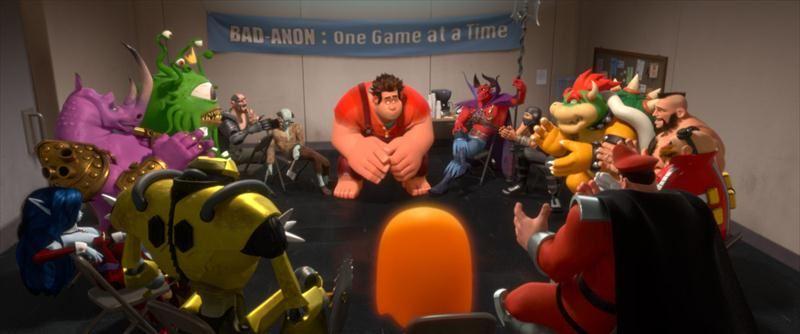 虛擬 無敵破壞王的電玩遊戲角色