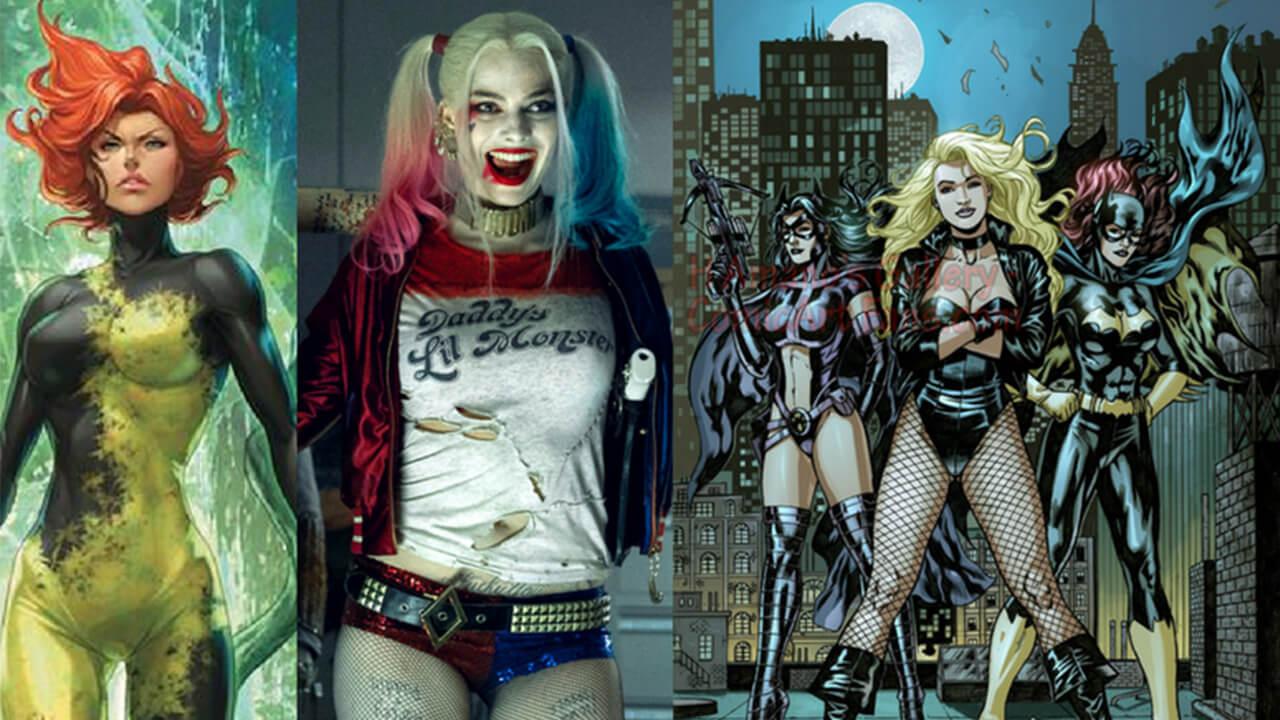 DC女英雄《猛禽小隊》將由「小丑女」帶領!?製作計畫明年年初開跑