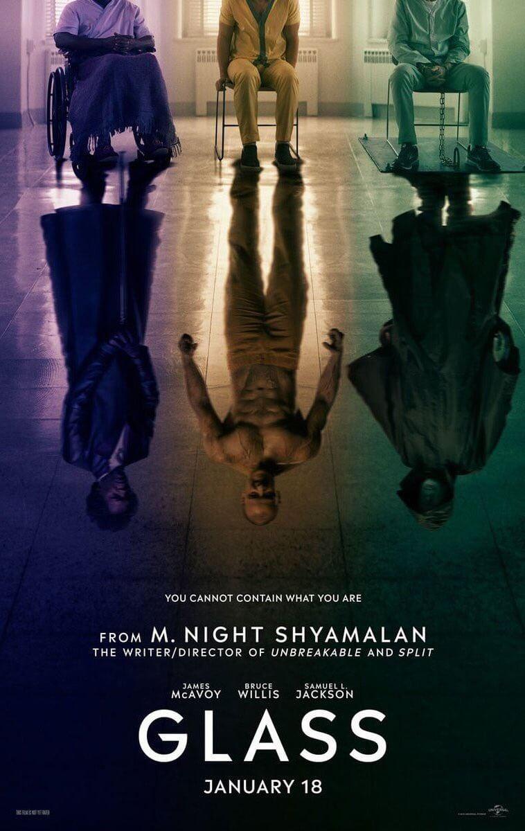 嚇到吃手手 也想要「 二刷 」:《 靈異第六感 》導演 奈沙馬蘭 最新執導作品《 玻璃 》2019即將上映。