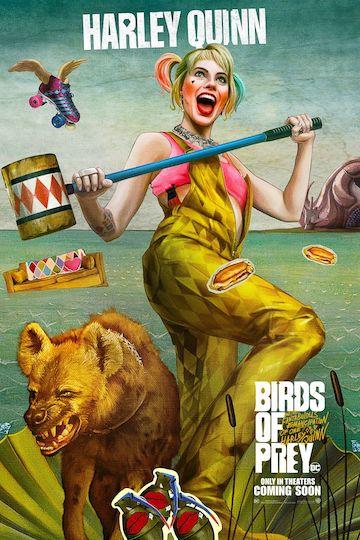 《猛禽小隊:小丑女大解放》電影海報致敬名畫「維納斯的誕生」,小丑女哈莉奎茵將以全新樣貌登場。