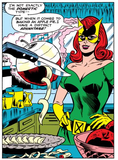 原本出現在 X 戰警系列漫畫中的變種人琴葛雷僅擁有念力與心電感應的能力──與其他夥伴相比並非太突出。