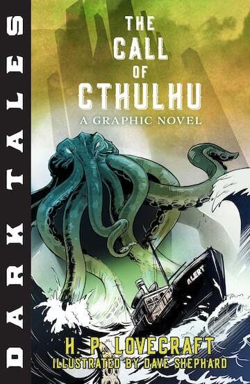 以洛夫克拉夫特著作《克蘇魯的呼喚》為本的插畫版黑暗神話。