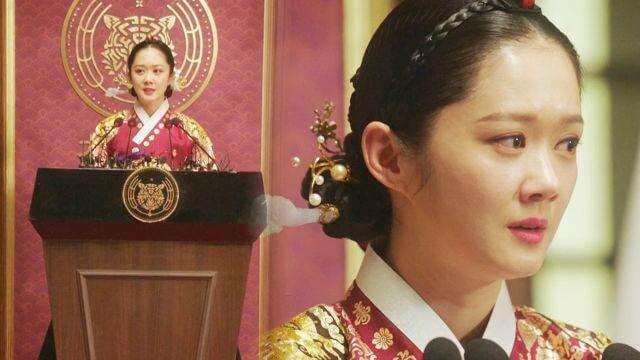 張娜拉主演韓劇《皇后的品格》。