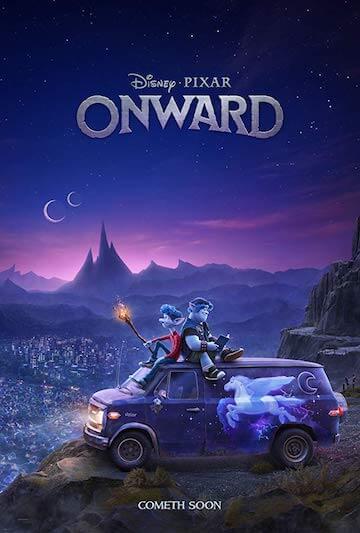 皮克斯最新奇幻動畫《Onward》海報&前導預告曝光