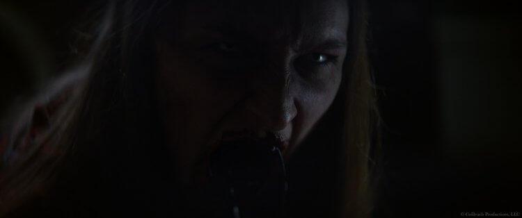恐怖電影《皮行者》劇照。