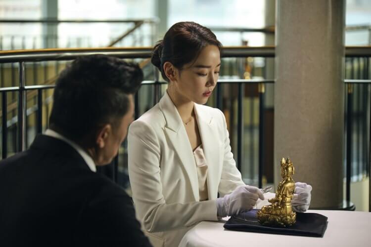 韓國喜劇電影《盜墓同盟》申惠善。