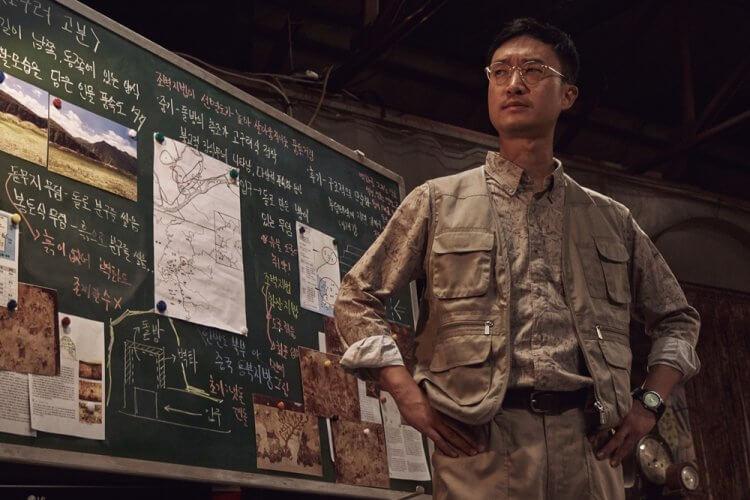 韓國喜劇電影《盜墓同盟》趙宇鎮。