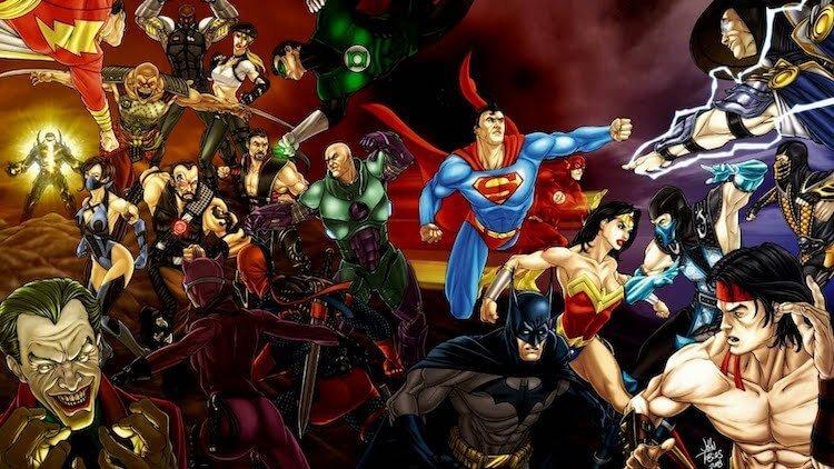 DC 宇宙跟真人快打宇宙被融合事件。