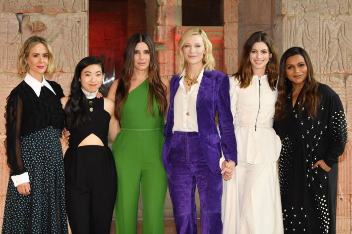 瞞天過海系列睽違 11 年最新電影續作:《 瞞天過海 : 8面玲瓏 》,力邀 安海瑟薇 莎拉寶森 海倫娜寶漢卡特 珊卓布拉克 凱特布蘭琪 蕾哈娜 等女星同台演出。
