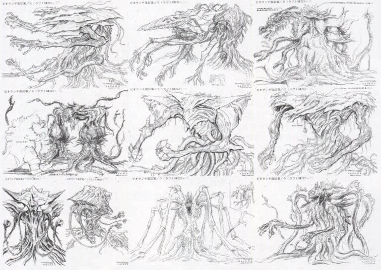碧奧蘭蒂的眾多原案設計