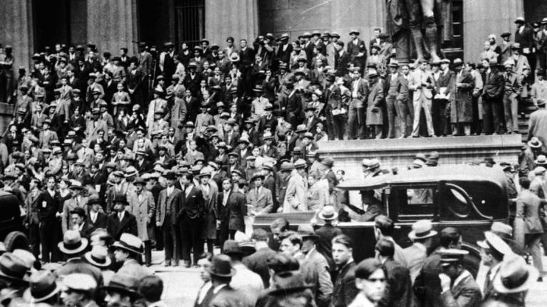 1929 年的華爾街股災,也是美國歷史上影響最嚴重的一次股災。