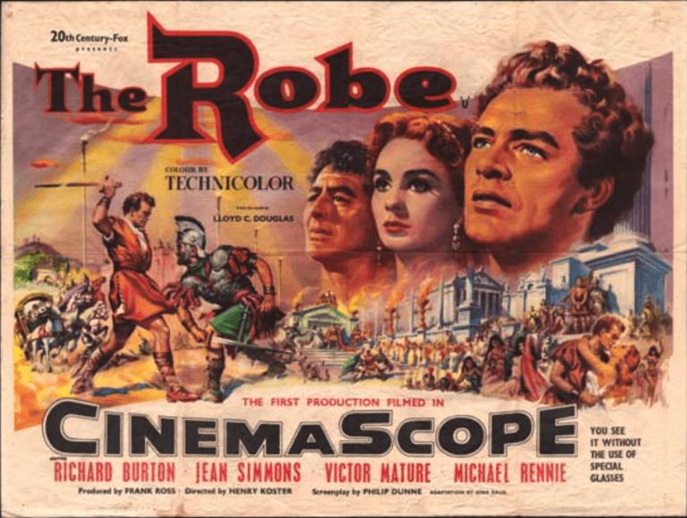 20 世紀福斯以早年曾經營戲院的經歷,推出以「新藝綜合體」規格打造的電影《聖袍千秋》,也改變了日後電影的樣貌。