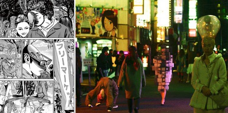 漫畫與電影版出現的怪異人體