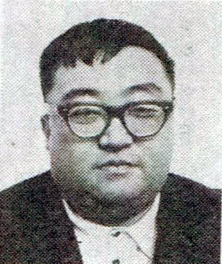 大映電影 1965 年怪獸片《大怪獸卡美拉》導演湯淺憲明。