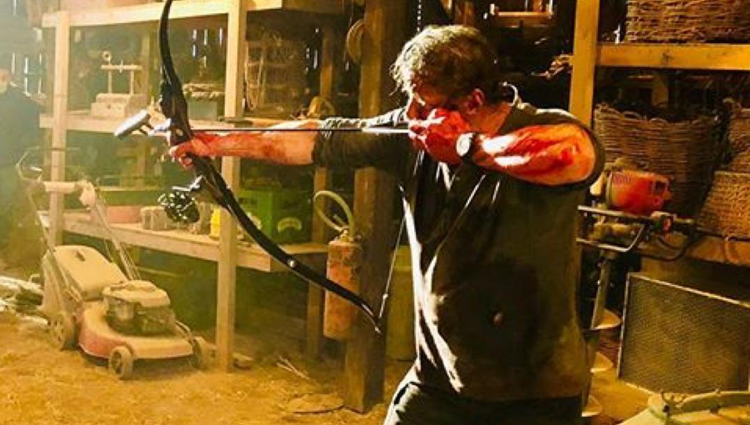 這樣太危險!《藍波:最後一滴血》「藍波」席維斯史特龍最新片場照曝光首圖