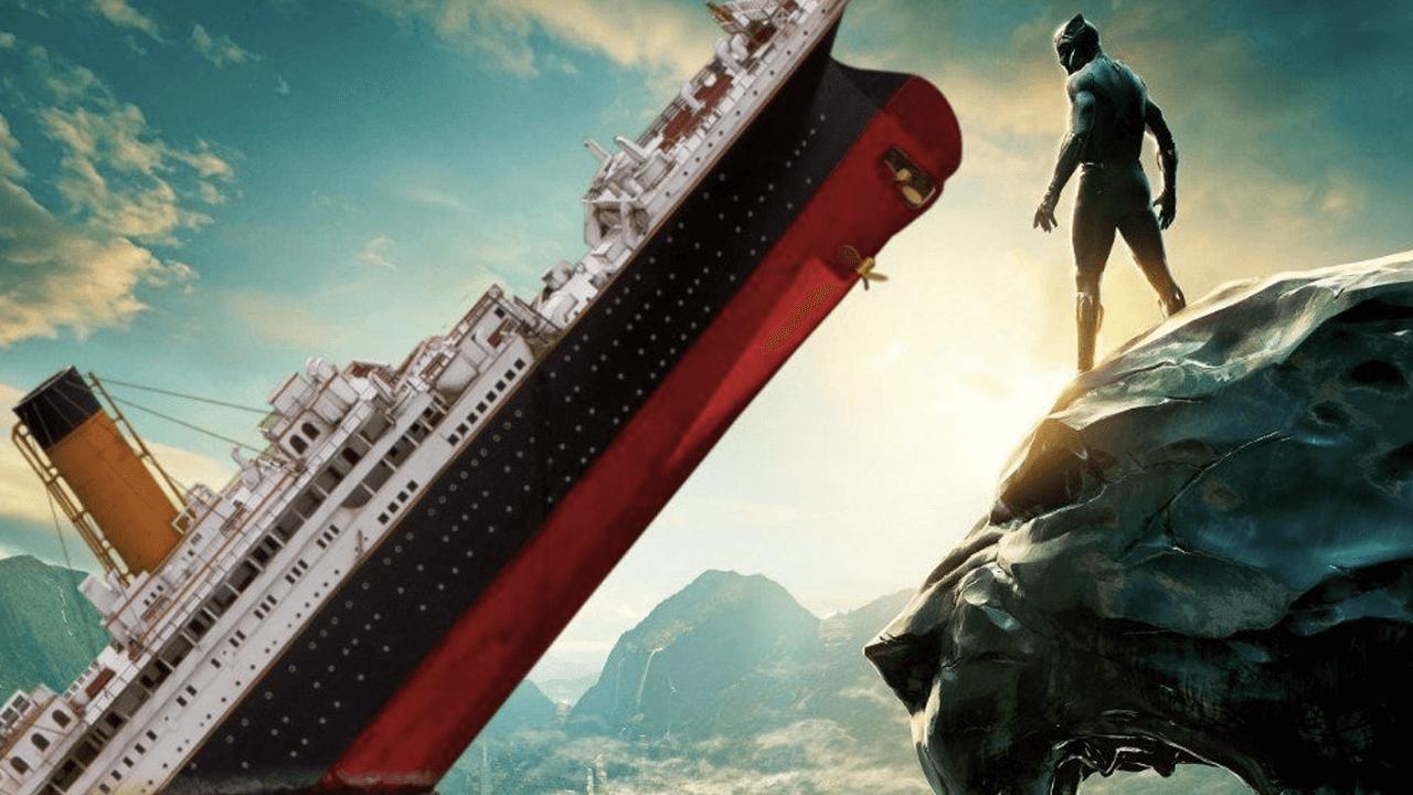 北美影史票房第三高的電影換人了!黑豹持續向前奔馳,Wakanda Forever!