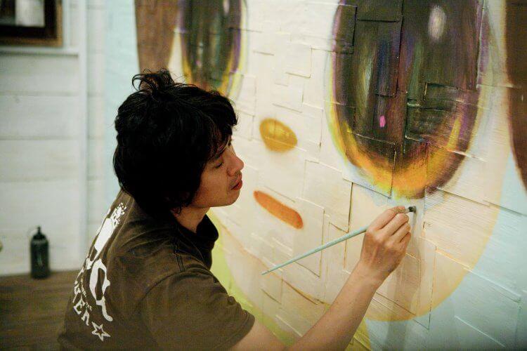 紀錄片電影《跟著奈良美智去旅行》劇照。