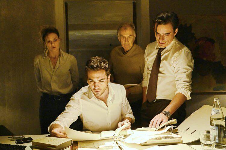 德國電影《罪人的控訴》劇照。