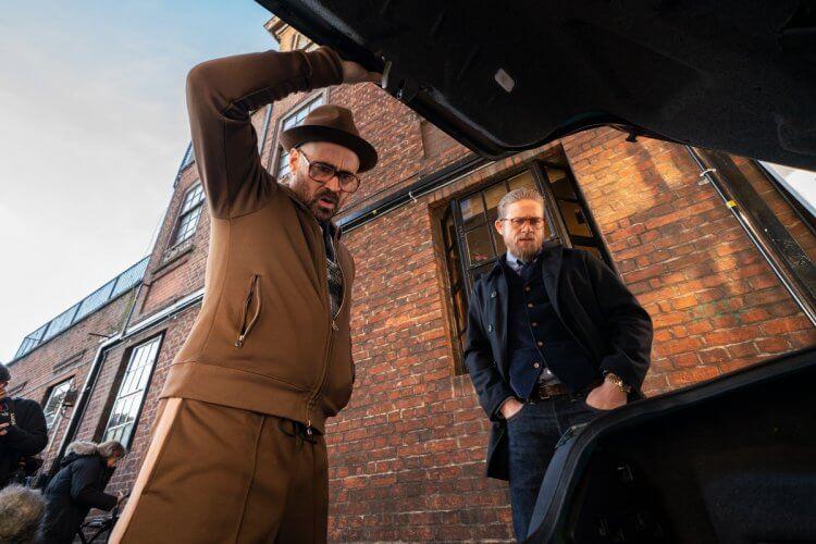 蓋瑞奇導演電影《紳士追殺令》劇照,即將在台上映。