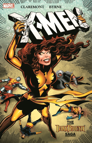X 戰警系列漫畫中的《黑鳳凰傳奇》(Dark phoenix saga),電影《X 戰警:黑鳳凰》即改編於此。