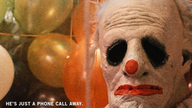 「小丑笑紋」(Wrinkles the Clown)。