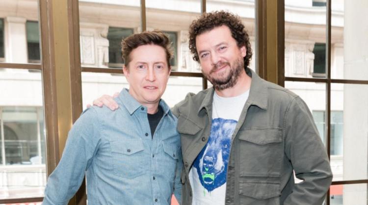 《月光光新慌慌》導演大衛高登格林與編劇丹尼麥布萊。