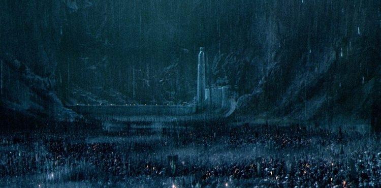 《魔戒二部曲:雙城奇謀》中的聖盔谷之戰
