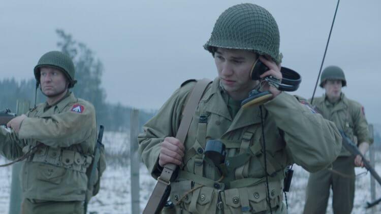 二戰驚悚電影《幽靈戰場》。