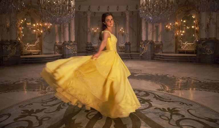 艾瑪華森在《美女與野獸》中飾演貝兒
