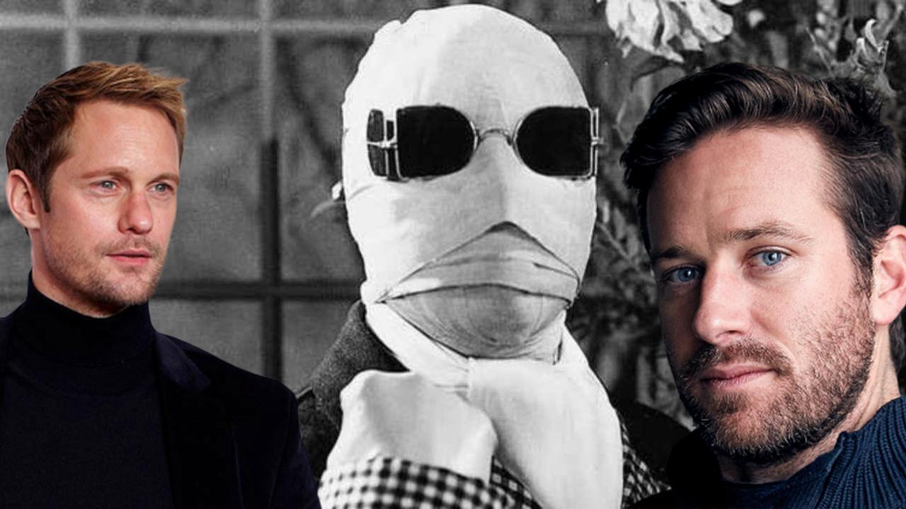 艾米漢默 亞歷山大史柯斯嘉二選一 ?《隱形人》跨世紀重啟,傑森布倫準備「這樣」做首圖