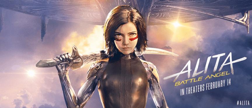 《艾莉塔: 戰鬥天使》海報