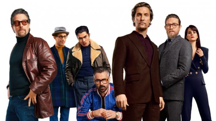 馬修麥康納、休葛蘭、柯林法洛……紳士齊聚。你要的元素,蓋瑞奇新作《紳士追殺令》(The Gentlemen) 都給你首圖