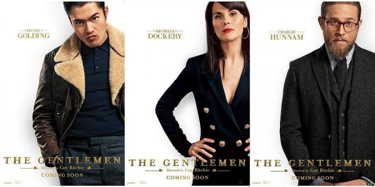 蓋瑞奇 新作《 紳士追殺令 》卡司眾星雲集,十分有看頭。