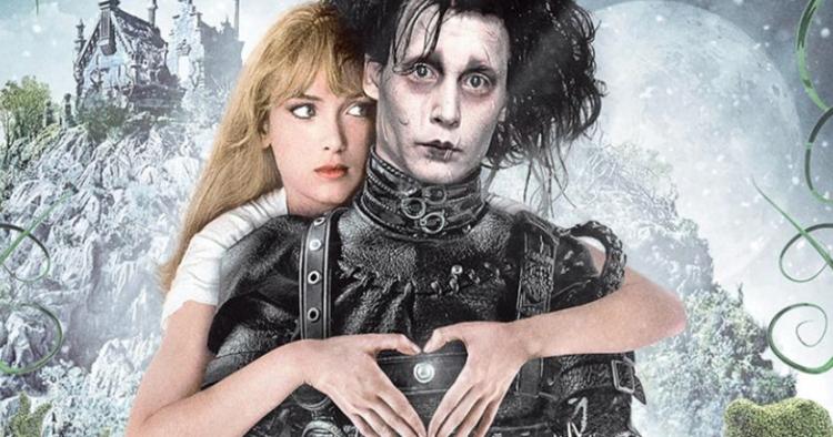 強尼戴普 (Johnny Depp) 與舊愛薇諾娜瑞德 (Winona Ryder) 曾合演電影《剪刀手愛德華》。