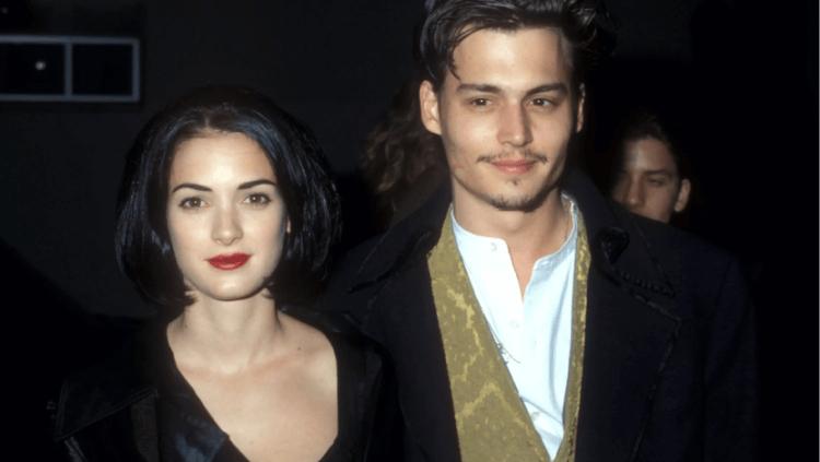 薇諾娜瑞德 (Winona Ryder) 與強尼戴普 (Johnny Depp) 曾訂婚三年