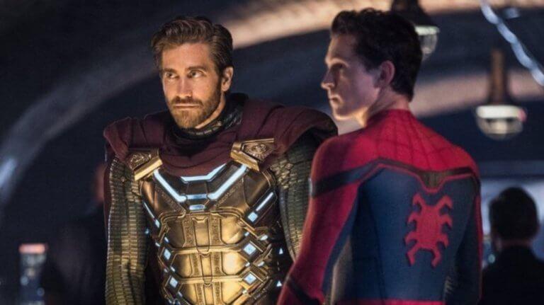 蜘蛛人彼得帕克與神秘客