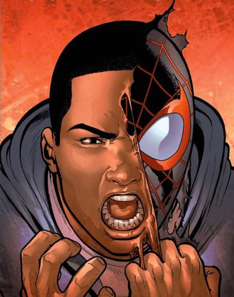 《 蜘蛛人:新宇宙 》的主角-邁爾斯摩拉斯 (Miles Morales)