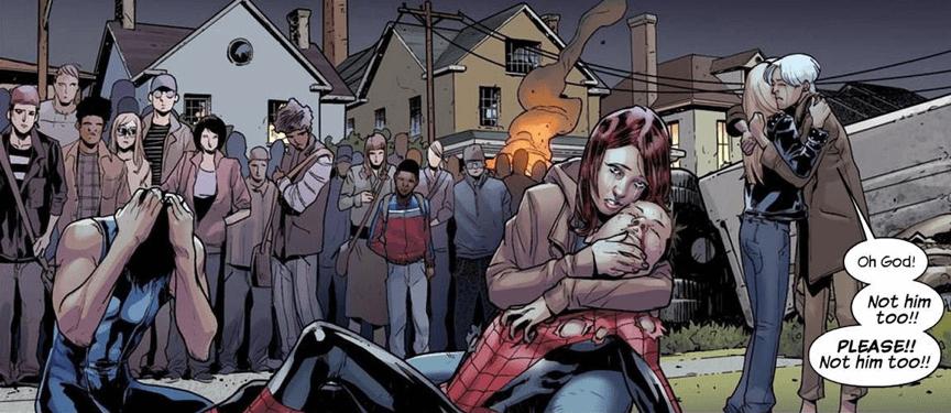 《 蜘蛛人:新宇宙 》在漫威漫畫中的劇情