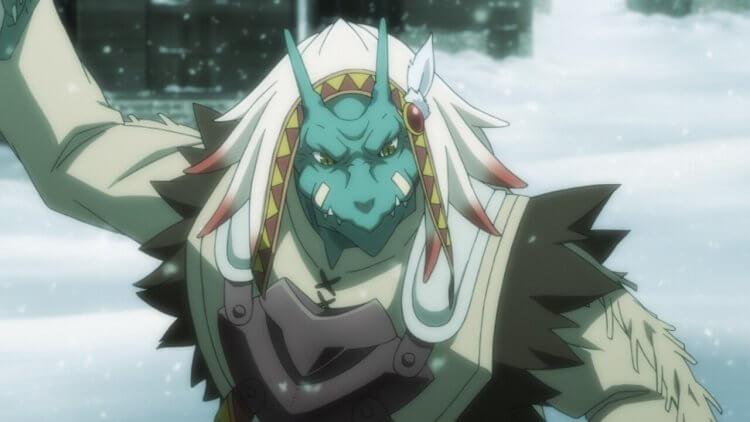 《哥布林殺手》蜥蜴僧侶:杉田智和配音。
