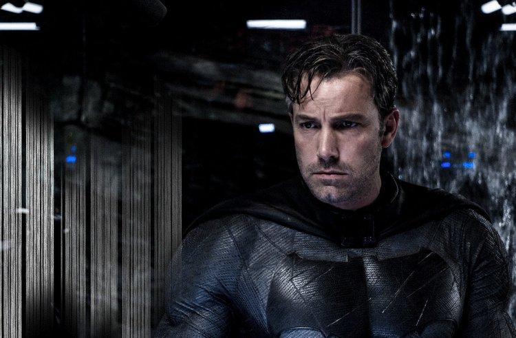 班艾佛列克 在 正義聯盟 中飾演 蝙蝠俠