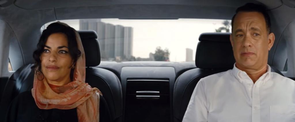 《 梭哈人生 》 湯姆漢克斯 飾演的艾倫, 以及女醫師 漢娜