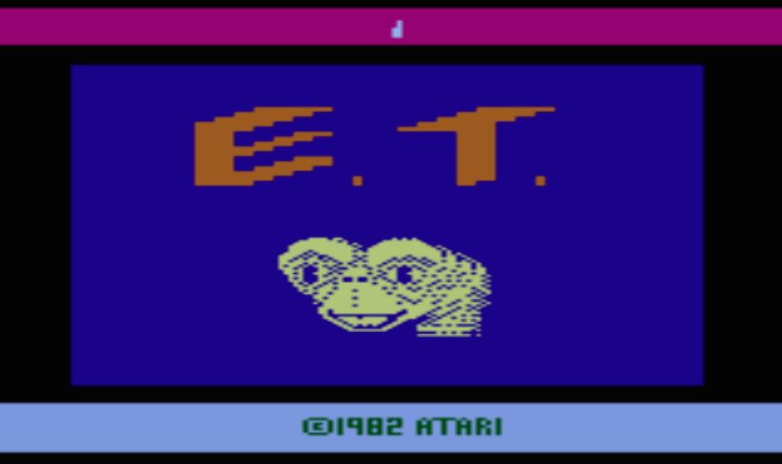 一級玩家 E.T.外星人遊戲畫面
