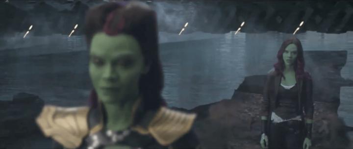 葛摩菈 薩諾斯 之間的羈絆 -《 復仇者聯盟:無限之戰 》刪除片段。