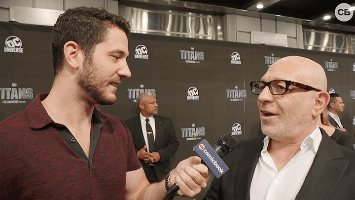 阿奇瓦高斯曼 受訪時談到 DC影集 《 泰坦 》的今後發展。
