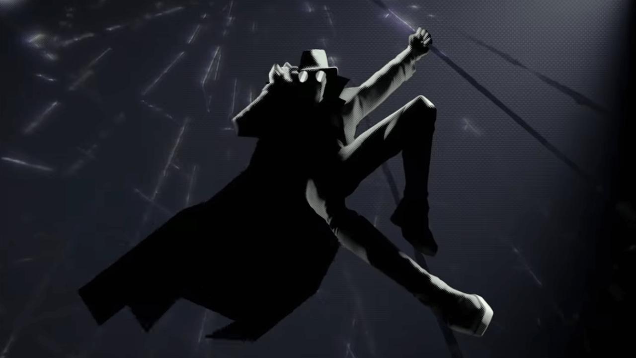 《蜘蛛人:新宇宙》中的暗影蜘蛛人。