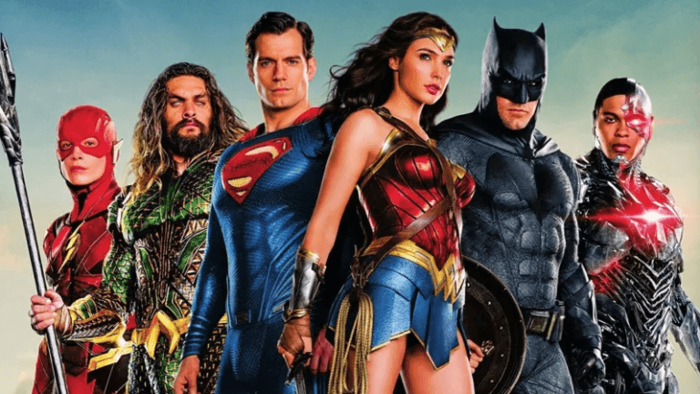 DCEU 2017 年的超級英雄電影《正義聯盟》。