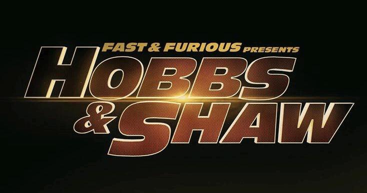 《玩命關頭外傳:哈柏與蕭 (暫)》(Fast & Furious Presents: Hobbs & Shaw) 片名LOGO