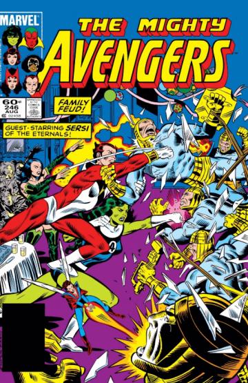 回到漫威漫畫中,瑪麗亞蘭博在 1984 年《復仇者》第 246 期中出現,身分與如今 MCU 電影設定大大不同。