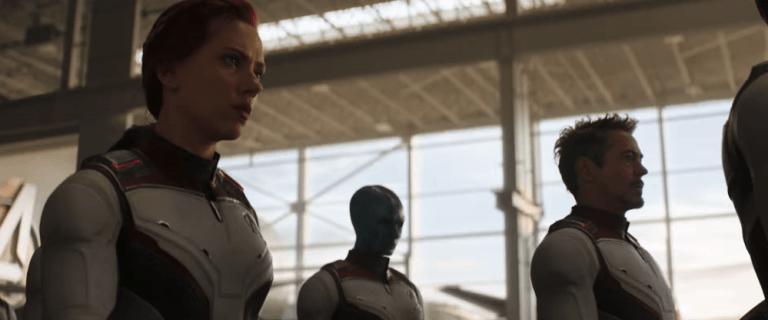 《復仇者聯盟:終局之戰》 鋼鐵人東尼史塔克 涅布拉 黑寡婦