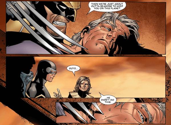 漫威漫畫《House of M》篇章中,原本復仇者聯盟與 X 戰警皆視之如敵的萬磁王,也只不過是個在快銀與緋紅女巫的決斷下產生的受害者。